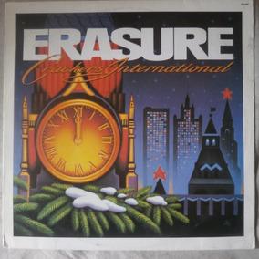 Lp Erasure 1989 Crackers International, Vinil Dance Seminovo