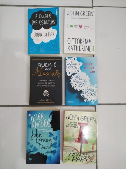 Kit 6 Livros Coleção John Green
