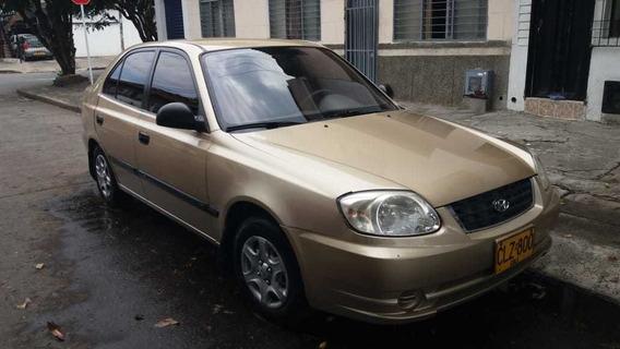 Hyundai Accent 2004, Motor 1,400 $11,800.000 Negociables