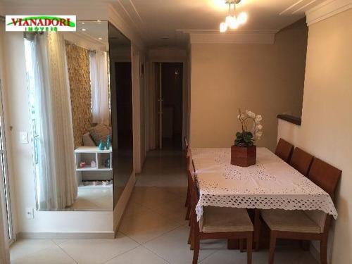 Imagem 1 de 20 de Apartamento Vila Augusta, Guarulhos. - Ap0940