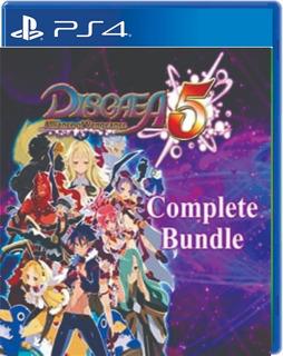 Disgaea 5 Complete Bundle - Digital - Ps4 - Manvicio