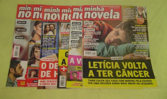 Lote De 6 Revistas Minha Novela - Frete Grátis