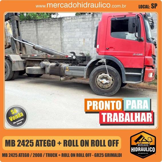 Mb 2425 Atego / 2008 - Roll On Roll Off G25 Grimaldi