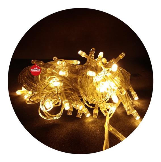 Luces Multi Led Navidad Guirnalda Decoración X 100 - Wilton