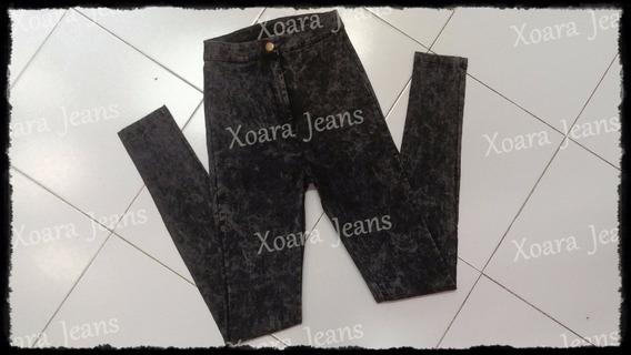 Pantalón Tiro Alto Bengalina Batik C/ Tajo - Xoara Jeans