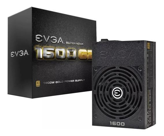 Fonte Evga Supernova 1600 G2, 80 Plus Gold, Full Modular