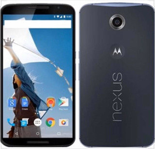 Celular Motorola Nexus 6 Azul Escoro E Branco 32gb Novo