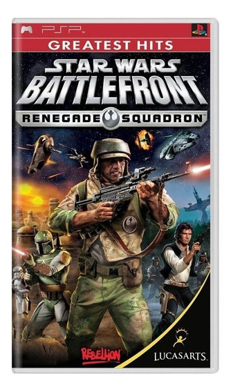 Star Wars Battlefront Renegade Squadron Psp Mídia Física