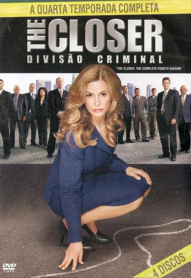 Dvd Quadruplo The Closer: Divisão Criminal - 4° Temporada
