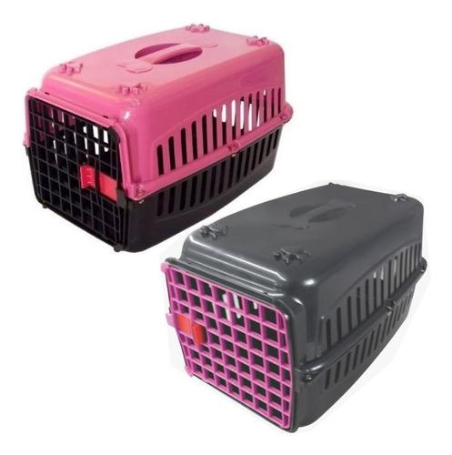 Kit 2 Caixas De Transporte Cachorro Gatos N2 E N3