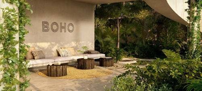 (crm-5832-46) Departamento Boho Residences Tulum Exclusivo Amueblado Lujo