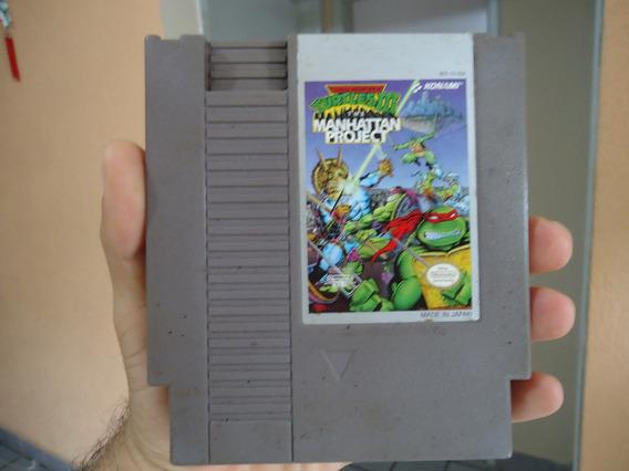 Tartarugas Ninja 3 - Cartucho Original Nes - Nintendinho