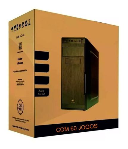 Pc Cpu Gamer Barato Com Jogos Hdmi C\ Video Radeon