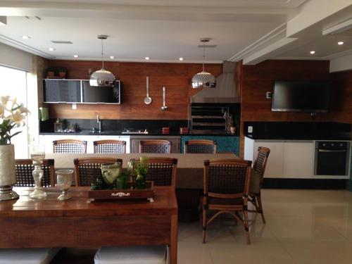 Apartamento Com 4 Dormitórios À Venda, 242 M² Por R$ 2.850.000,00 - Tatuapé - São Paulo/sp - Ap6266