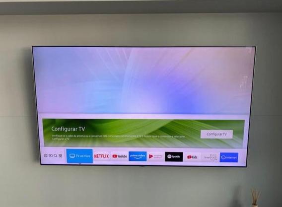 Smart Tv Samsung 4k Qled 65 Polegadas Com Nf