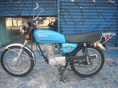 Honda Cg 125 Azul Ano 1982 Troca Financia No Cartão De Cred.