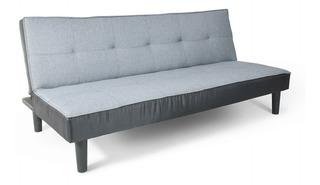 Sofa Cama Individual Tres Posiciones Minimalista Resistente