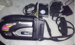 Filmadora Panasonic Rj28 Com Controle E Acessorios