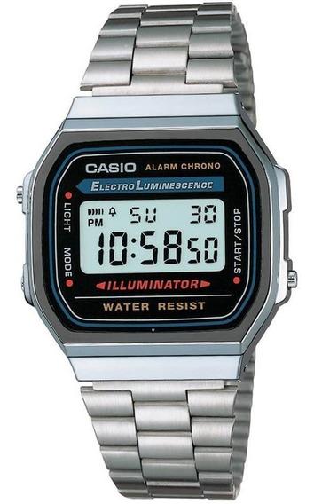 Relogio Digital Feminino Casio Original A168wa1wdf