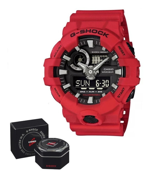 Reloj Casio Gshock Ga700 Cristal Mineral