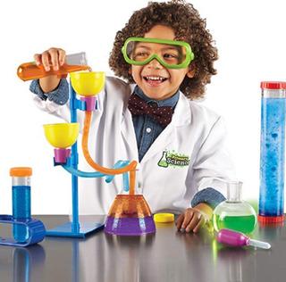 Kit De Laboratorio Para Niños Cientificos Con Microcoscopio