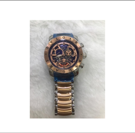 Relógio Gtx125 Bv Série Ouro Rose Original