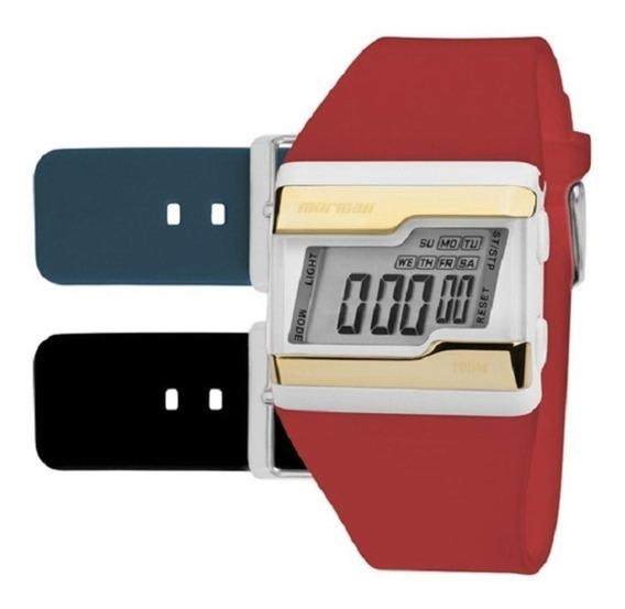 Relógio Mormaii Fzv/t8p Troca Pulseira