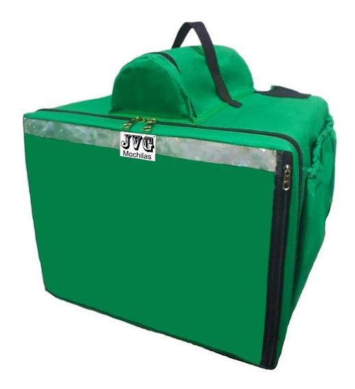 Uma Bag Bolsa Jvgmochilas® Motoboy Pizza Lanche Caixa Isopor