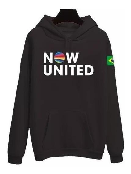 Moletom Now United Any Gabrielly 06 Bandeira Brasil Music