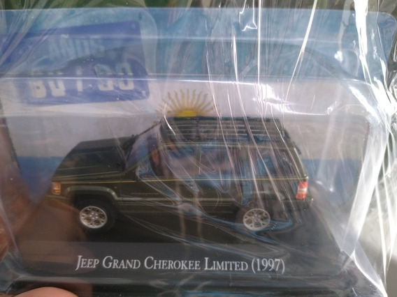Autos Inolvidables 80/90 Nro 26 Jeep Grand Cherokee Limited