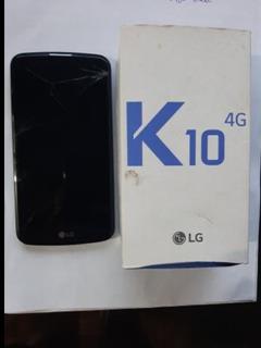 Celular Lg K10 Usado