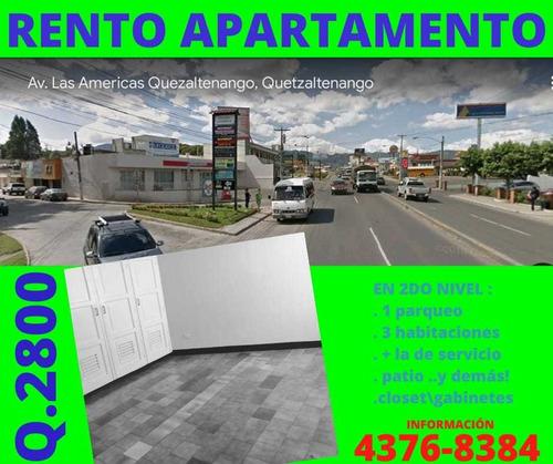 Imagen 1 de 1 de Rento Apartamento En Xela Z.3
