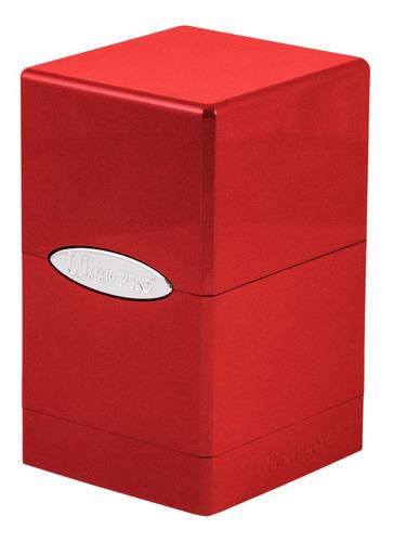 Ultra Pro Satin Tower Deck Box Red - Rojo