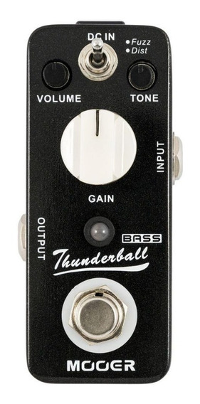 Pedal Mooer Thunderball Bass Fuzz Distortion