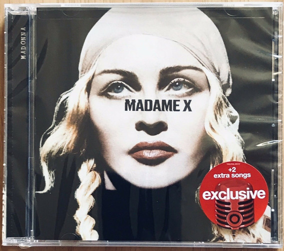 Madonna Madame X Target Ed Faixa Bônus Lacrado No Brasil