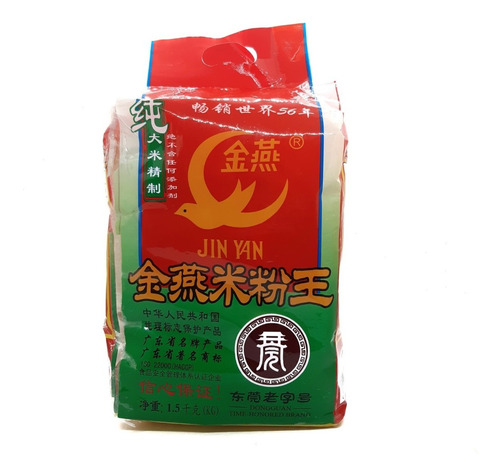Fideos De Arroz Jin Yan 1.5 Kg