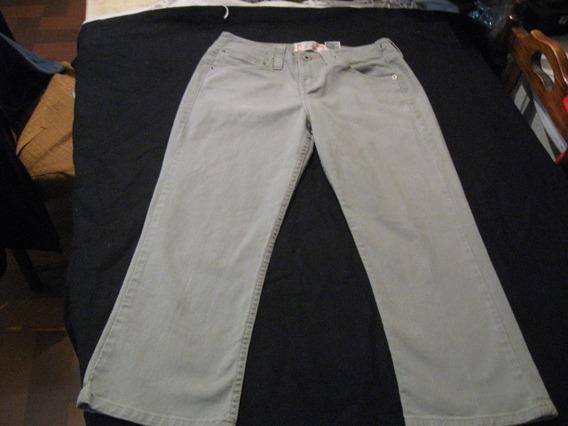 Pantalon Jeans De Mujer Levi Strauss Signature Capri Talla 4