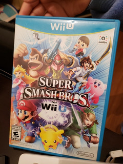 Juego Consola Wiiu Super Smash Bros