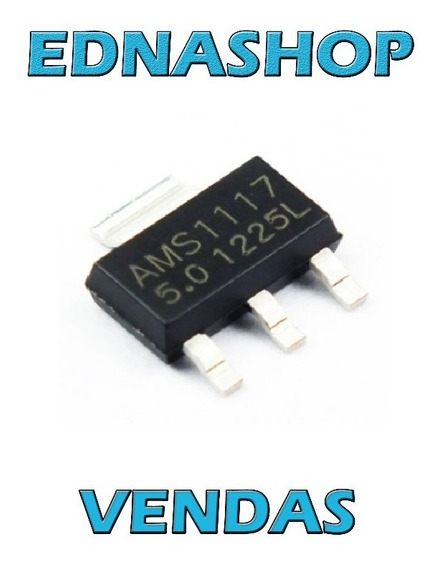 10x Ams1117 Regulador Smd Sot-23 1.2v 2.5v 3.3v 1.8v 5.0v