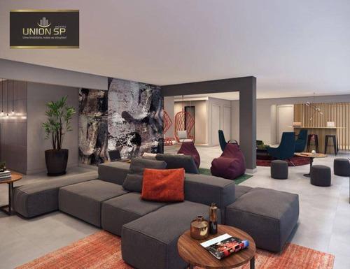 Studio Com 1 Dormitório À Venda, 27 M² Por R$ 381.000,00 - Vila Mariana - São Paulo/sp - St0835
