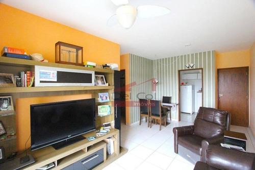 Apartamento Com 3 Dormitórios À Venda, 74 M² Por R$ 400.000,00 - Jardins De Bragança - Bragança Paulista/sp - Ap0134