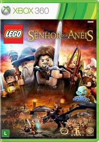 Lego Senhor Dos Anéis Xbox 360 Original Lacrado