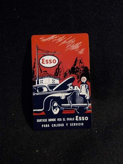 Calendário De Bolso Original Esso
