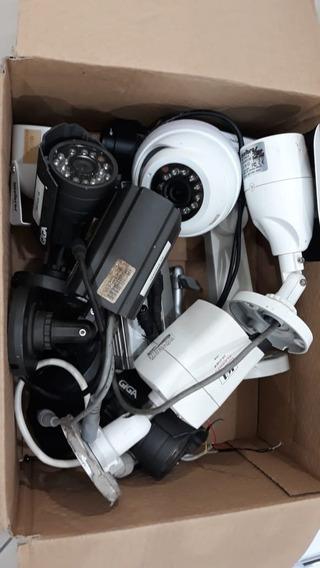 Lote C/ 9 Câmeras Diversas