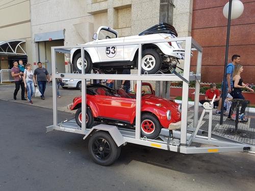 Carretinhas Carreta Mini Fusca Buggy Quadriciclos