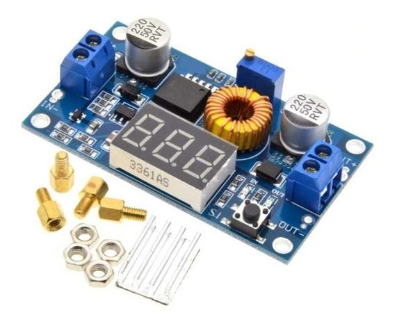 Conversor Dc Dc Dc-dc Step Down Xl4015 5a Com Display