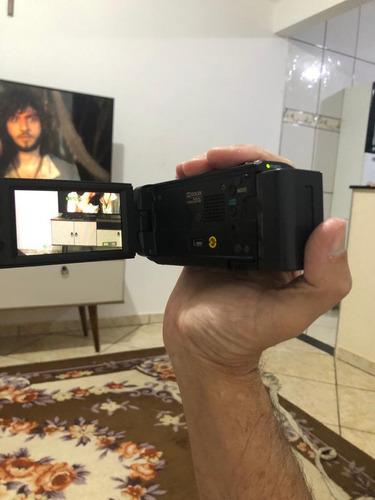 Câmara Filmadora Sony Handycam Dcr-sx21 Muito Nova ,+ Case