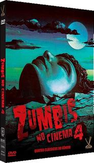 Zumbis No Cinema Vol. 4 - 2 Discos - Dvd