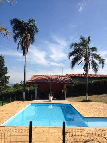 Chácara Com 4 Dormitórios À Venda, 5000 M² Por R$ 2.000.000,00 - Medeiros - Jundiaí/sp - Ch0139