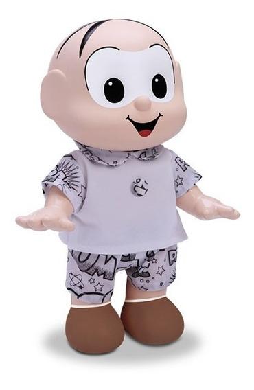 Turma Da Mônica Pinta Roupa Boneco Cebolinha Diver Toys